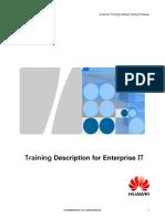 Training Description for Enterprise IT