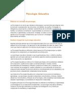Psicología Educativa 1