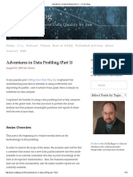Adventures in Data Profiling (Part 1) — OCDQ Blog
