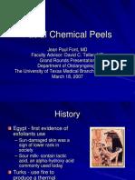 Chem Face Peel Slides 070318