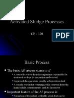 CE 370 - Activated Sludge Processes