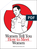 [Sex Seduction Dating] Jon Jensen - Women Tell How To Meet Women.pdf