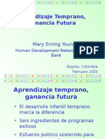 Aprendizaje Temprano, Ganancias Futuras-mary Young