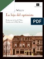 La Hija Del Optimista - Welty, Eudora Copia
