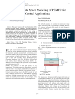 Linearized State Space Modeling of PEMFC for Control Applications
