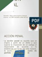 ACCION PENAL Diapositvia