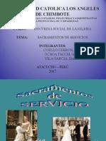 Sacramentos de Servicio