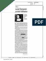 Cervasio Sannazaro Secondo Sabbatino LaRepubblica 2011