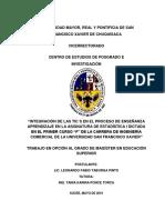 Tesis_Integración de las TIC´s en el Proceso de  Enseñanza Aprendizaje - Taborga Pinto Leonardo