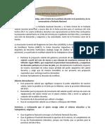 Declaración conjunta de los sindicatos docentes de Entre Ríos