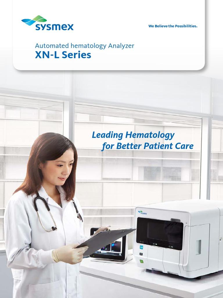 Brosur Hematologi Analyzer XN-L Series   Cytometry   Red Blood Cell