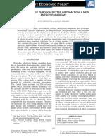 Bernstein & Collins (2014) – Saving Energy Throuh Better Information – a New Energy Paradigm