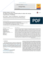 Vringer Et Al. (2016) – Saving Energy is Not Easy - An Impact Assessment of Dutch Policy to Reduce the Energy Requirements of Buildings