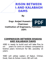 COMPARISON BETWEEN BHASHA AND KALABAGH DAMS Chariman Sab Presentation.pptx