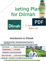 Marketing Plan for Dilmah