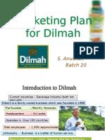 Marketing Plan for Dilmah