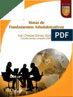 Texto Guia Notas de Fundamentos Administrativos