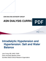 Intra and Intradialytic Hypotension and Hypertension Inrig