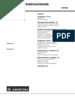 Manual Horno f48-f48r