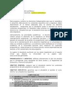 Programa del curso  QUIMICA INORGANICA (CB008)