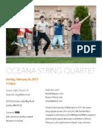 Oceana Recital Flyer 2