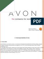 Avon Powerpoint Presentation