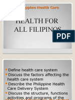 Philippine Health Care System