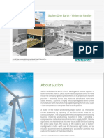 Suzlon One Earth GÇô Vision to Reality