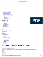 Writ of a Freemans Right to Travel.pdf