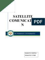 Settlite Communication