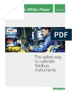 Beamex White Paper - The Safest Way to Calibrate Fieldbus Instruments