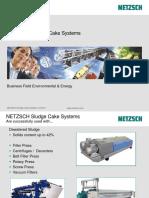AD Response Sludge Cake Systems