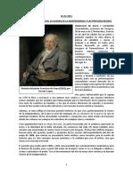 Goya. Guerra Independencia y Pinturas Negras