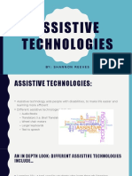 ed tech assistive technologies
