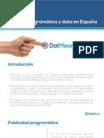 Estudio Datmean - Programática y Data Ene 2017