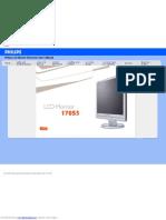 Philips 170 S5 Monitor_user manual