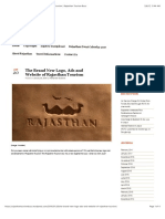 The Brand New Logo, Ads and Website of Rajasthan Tourism | Rajasthan Tourism Buzz