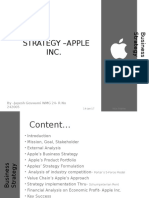Strategy –Apple Inc_Project PPT [Recovered]