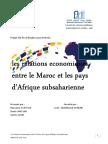 2015 Fsjess Les Relations Economiques Entre Le Maroc Et Les Pay