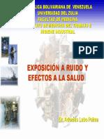 Exposicion a Ruido y Efectos a La Salud