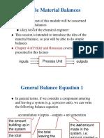 02 Material Balances