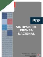 Sinopsis MD impresos 06-07-10.