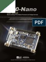 DE0 Nano User Manual