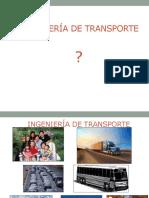 Clase Ingeniería de Transporte