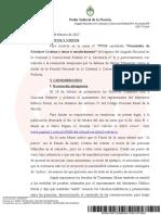 El juez Lijo rechazó la recusación del fiscal Pollicita en la causa por la denuncia de Nisman