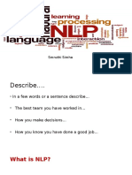 NLP Workshop NC