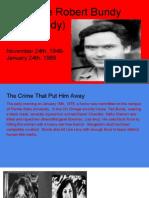 theodore robert bundy forensic project