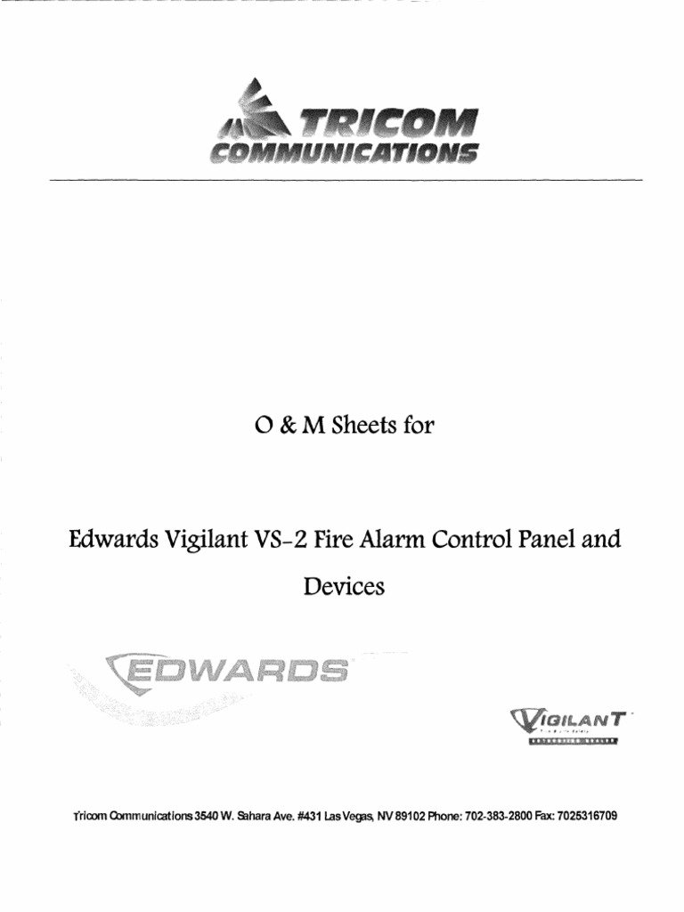 Basic Commercial Wiring Fire Alarm Edwards - Wiring Diagram