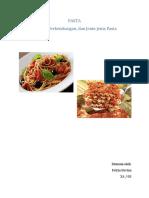Pasta by Felicia Devina Kelas 10a No 05