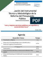 Presentacion Sobre Actualizacion Del Instrumental Tecnico de La Reforma
